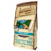 Сухой корм для кошек Natural Greatness Field & River с лососем и ягнёнком 600 гр