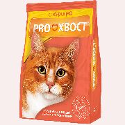 "Сухой корм для кошек Прохвост ""Курица"", 350г"