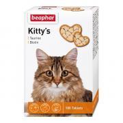"Витамины для кошек Beaphar Kitty's+Taurine+Biotin"" таурин+биотин 180шт"