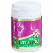 Витамины для кошек POLIDEX Мультивитум 200таб