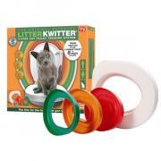 Система приучения кошек к унитазу «Litter Kwitter» (Литер Квитер)