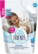Наполнитель для кошачьего туалета Little Friends Силикагелевый Original 5л