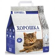 Наполнитель для кошачьего туалета ХОРОШКА впитывающий 10л