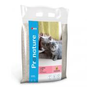 Pronature Комкующийся глиняный наполнитель для кошек (с ароматом детской пудры), 12 кг