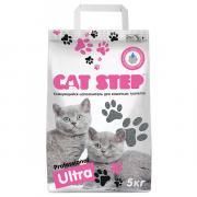 Наполнитель для кошачьих туалетов Cat Step комкующийся 5 кг