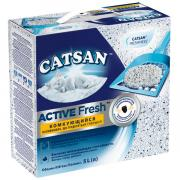 Catsan Наполнитель для кошачьих туалетов Катсан Active Fresh комкующийся 5 литров