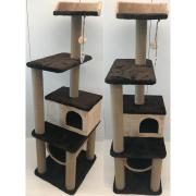 Товары для кошек Балуй Балуй-18 джут комплекс для кошек с домиком и тоннелем