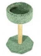 Когтеточка ковролиновая с лежанкой 43*43*57см, 0.000