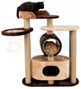 Товары для кошек Балуй Балуй-03 джут игровой комплекс с домом, тоннелем и лежанками