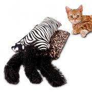 Интерактивный Дразнилки Учебный Подходит для домашних животных Войлок / Ткань Мультфильм игрушки Плюшевая ткань Назначение Коты