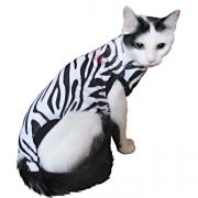 MPS- Функциональные попоны для маленьких собак и кошек (расцветка зебра) XXXS.