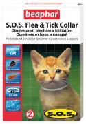 Ошейник для котят против блох, клещей Beaphar S.O.S. Flea & Tick белый, 35 см