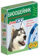 Ошейник для собак против блох, власоедов, вшей, клещей Доктор ZOO БИО синий, 65 см