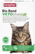 Ошейник для кошек против блох, клещей, комаров Beaphar VETO Shield Bio Band зеленый, 35 см