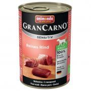 Корм для собак Animonda Gran Carno Sensitiv c говядиной конс. 400г