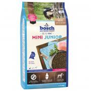 Корм для щенков Bosch Mini Junior для мелких пород, птица сух. 1кг