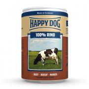 Корм для собак HAPPY DOG 100% мясо Говядина ж/б конс. 400г