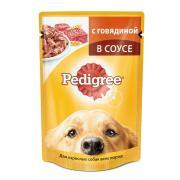 Корм для собак Pedigree Говядина конс. 100г