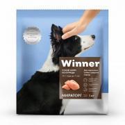 Корм для собак Winner для средних пород курица сух. 1кг