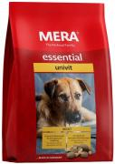 Сухой корм MERA ESSENTIAL UNIVIT для взрослых собак с нормальным уровнем активности, микс-меню , 12,5 кг