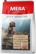 Сухой корм MERA PURE SENSITIVE JUNIOR TRUTHAHN&REIS для щенков с индейкой и рисом, 4 кг