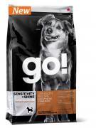 GO! NATURAL HOLISTIC (для щенков и собак со свежим лососем и овсянкой) 5,45 кг