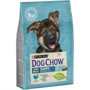 """Сухой корм DOG CHOW """"Puppy Large Breed"""" для щенков крупных пород до 2 лет, с Индейкой, 2,5 кг"""