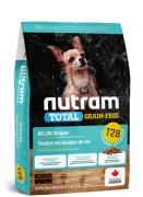 WB Nutram T28 SB Salmon Trout Dog 20кг- сухой корм для мелких пород (лосось форель)