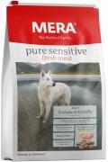 Сухой корм MERA PURE SENSITIVE ADULT FRESH MEAT TRUTHAHN&KARTOFFEL для взрослых собак с индейкой и картофелем, 4 кг