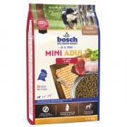 Сухой корм для собак мелких пород Bosch Mini Adult с ягнёнком и рисом 3 кг