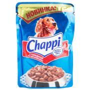 """Корм для собак """"Чаппи"""" Говядина по-домашнему 100г."""