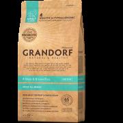 Grandorf 4Meat & Brown Rice Adult All Breeds Корм для собак четыре вида мяса с бурым рисом 3 кг