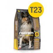 Сухой собачий корм T23 GF Turkey, Chicken & Duck Dog Food Nutram 13.6 кг