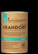 Grandorf LAMB & TURKEY Adult All Breeds Консервы с ягненком и индейкой для взрослых собак всех пород 400 г