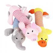 Плюшевые игрушки Мультипликация Скрип Плюш Назначение Кошка Собака