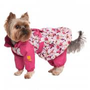 Комбинезон для собак Dogmoda Настроение (цветы) 24см