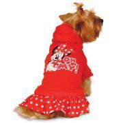 Толстовка для собак Triol размер XS женский, красный, длина спины 20 см
