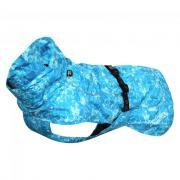 Дождевик для собак RUKKA Drizzle 55см голубой