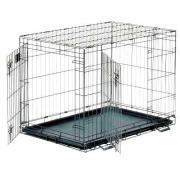 Клетка для животных MidWest Life Stage двухдверная черная 122х76х84см