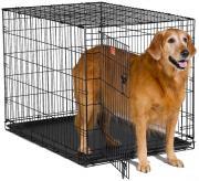 Midwest iCrate Клетка для собак с одной дверью, черная 76x48x53