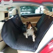 Собаки Коты Чехол для сидения автомобиля Медобеспечение Животные Корпусы Компактность Путешествия Складной Однотонный Черный Бежевый Серый