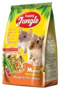 Корм для мышей, песчанок Happy Jungle Happy Jungle 0.4 кг 1 шт