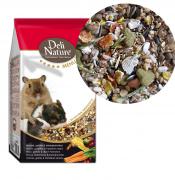 Deli Nature Menu 5 ????? Mice, Gerbils, Dwarf Hamsters - корм для мышей, песчанок и карликовых хомячков 750 гр.