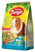 Корм для мор��ких свинок Happy Jungle витаминизированный 0.4 кг 1 шт