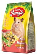 Корм для хомяков Happy Jungle витаминизированный 0.4 кг 1 шт