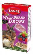 Лакомство для грызунов SANAL Wild Berry Drops, 45г