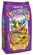 Грызунчик Хрустящие гранулы корм - лакомство для грызунов и кроликов (Ассорти, 150 г.)