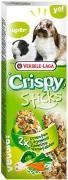 Лакомство для грызунов Versele-laga Crispy палочки для кроликов и морских свинок с овощами 2шт*55г (упаковка 3 шт.)