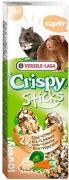 Лакомство для грызунов Versele-Laga Crispy палочки с рисом и овощами 2шт*55г (упаковка 3 шт.)