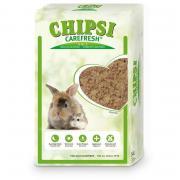 CHIPSI CAREFRESH Original 14 л бумажный наполнитель для мелких домашних животных и птиц